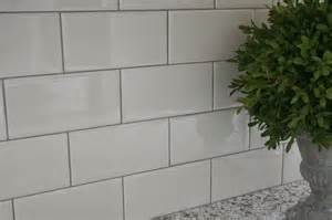 white subway tile w delorean gray grout for the home