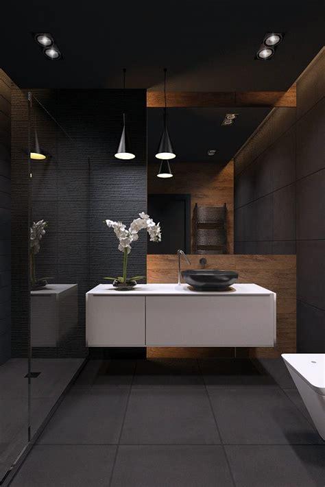 Black Bathroom Ideas by Best 25 Bathrooms Ideas On Slate