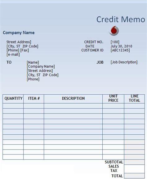 difference  invoice  credit memo