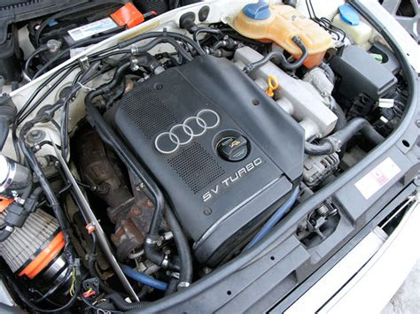 audi 1 8 t motor 2001 audi a4 1 8t quattro parts car stock 005199