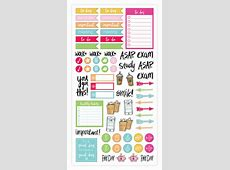 Sticker Sheets, Classic Planner Stickers – bloom daily