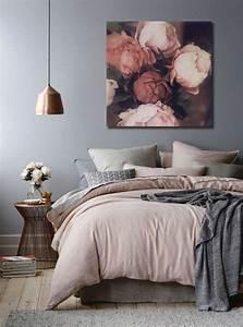 Tableau Deco Chambre : quel tableau pour un mur gris blog izoa ~ Teatrodelosmanantiales.com Idées de Décoration
