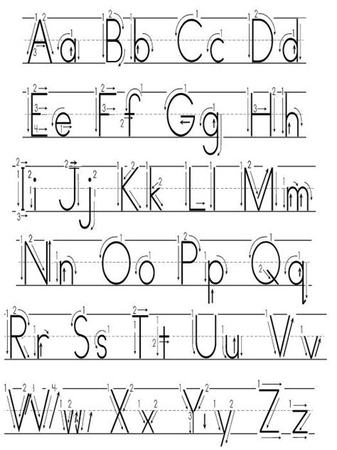alphabet symbols kindergarten google search reading