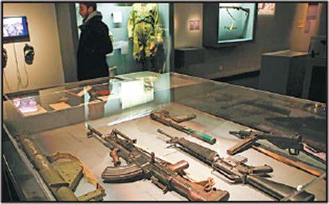 secret agents gadgets  weapons  displayed  part