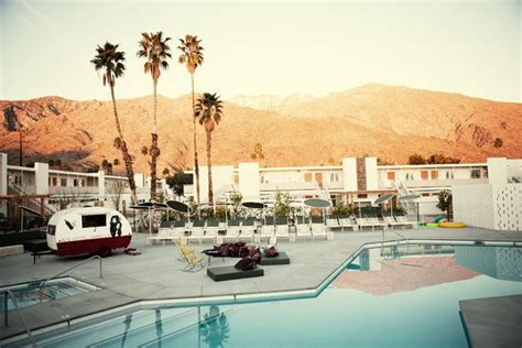 A Mid Century Desert Oasis In Palm Springs by Ace Hotel Palm Springs Mid Century Modern Desert