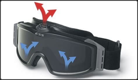 safety goggles with fan profile turbofan in ballistic goggles ess eye pro