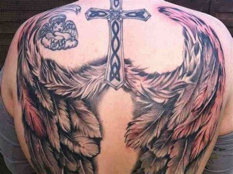 30 Beautiful Angel Tattoos For Girls
