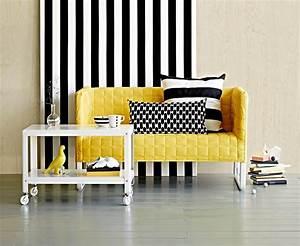 Polstermöbel Für Kleine Räume : wohnen in der stadt sofa unter 1 20 meter knopparp von ikea bild 2 sch ner wohnen ~ Bigdaddyawards.com Haus und Dekorationen