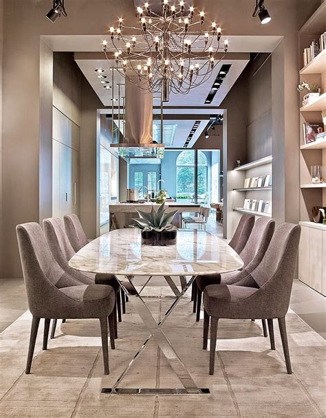 dinning room modern furniture dining room clear white chandelier for