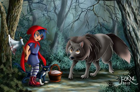 Little Girl, Wolf, Red Hood Wallpapers And Images