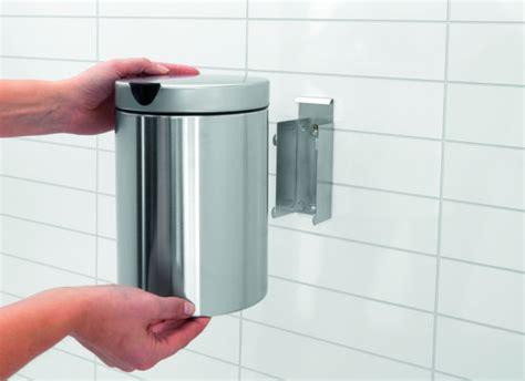 Wc Mulleimer by Afvalemmer Hangend Toilet Poetshoek 3 Liter Rvs Mat Rond