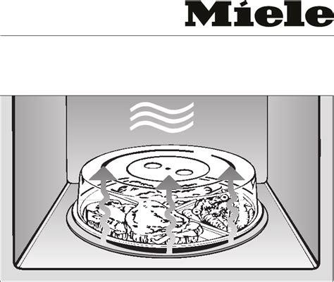 miele microwave oven mec user guide manualsonlinecom