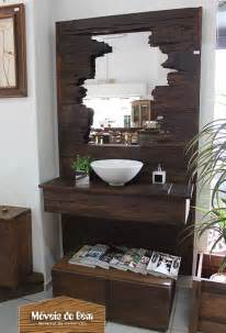 wall decorating ideas for bathrooms 1000 images about lavabo ou banheiro on madeira