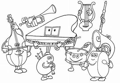 Coloring Pages Printable Sheets Coloringpages1001 Orchestra