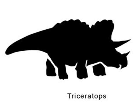 triceratops stencil printable triceratops stencils