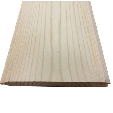 Cottage Board by Silvastar 1 In X 6 In X 8 Ft Cottage White Spf