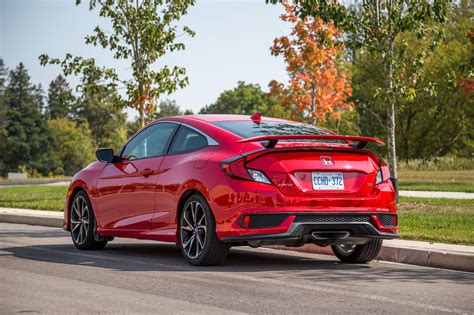 2017 Civic Coupe Review by Review 2017 Honda Civic Si Coupe Canadian Auto Review