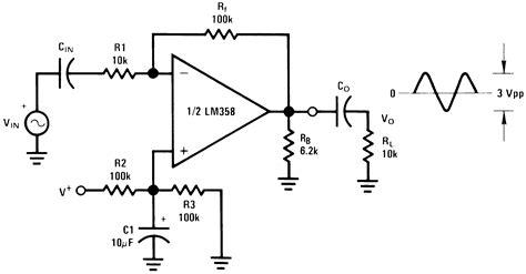 Amplifier Schematic Diagram Electronic Circuit