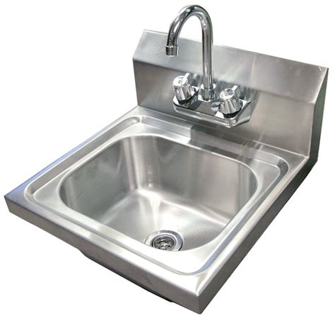stainless steel commercial hand wash sinks omcan nsf commercial stainless steel hand washing sink