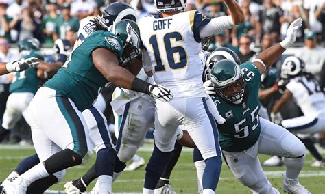 carson wentzs injury shifts focus  eagles defense