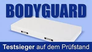 Beste Getestete Matratze : bodyguard matratze testsieger auf dem pr fstand youtube ~ Watch28wear.com Haus und Dekorationen