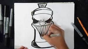 wie zu zeichnen Sprühdose Graffiti YouTube