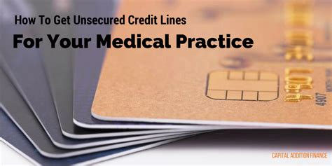 how to get an unsecured how to get unsecured credit lines for your