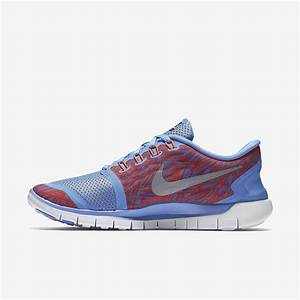 Nike Womens Free 5 0 Print Running Shoes