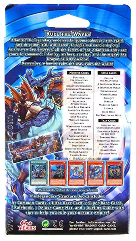 Emperor Structure Deck Strategy konami yu gi oh realm of the sea emperor structure deck