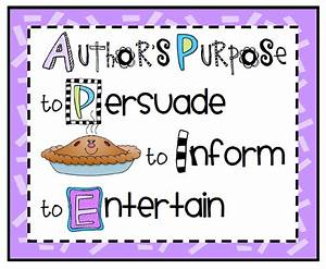 Sailing Through 1st Grade: Author's Purpose