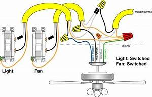 2wire Switch Wiring Diagram Ceiling Fan Light : running in attic with electric ~ A.2002-acura-tl-radio.info Haus und Dekorationen