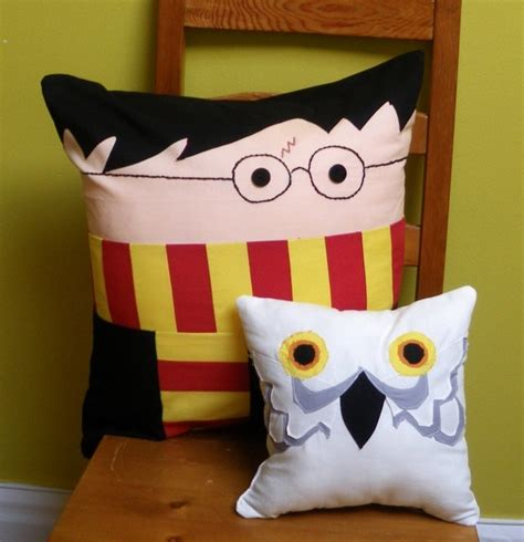 harry potter pillow time i seen a hedwig pillow and we need it