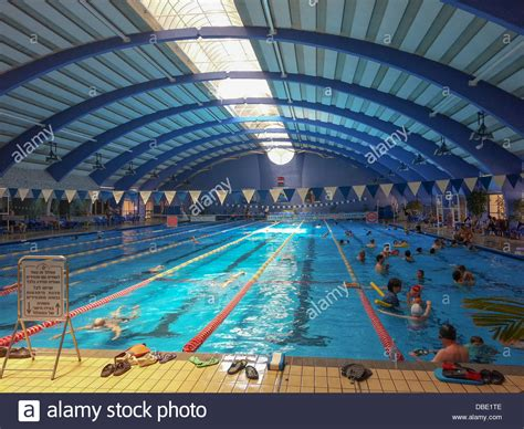 Indoor Olympic Sized Swimming Pool At The Technion, Haifa
