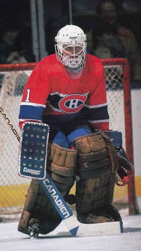 rick wamsley montreal canadiens game worn jersey