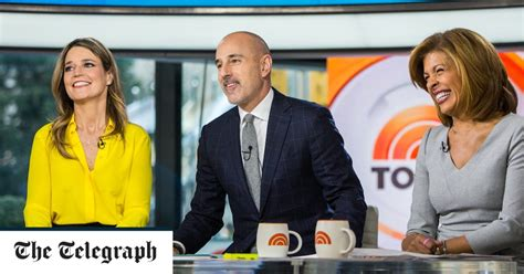 US news anchor Matt Lauer fired after being accused of ...