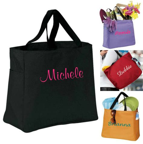 personalized tote bag bridesmaid gift cheer dance