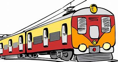 Clipart Rail Passengers Train Passenger Driver Clipground