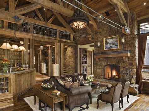 Rustic Country Living Room Decorating Ideas French Country