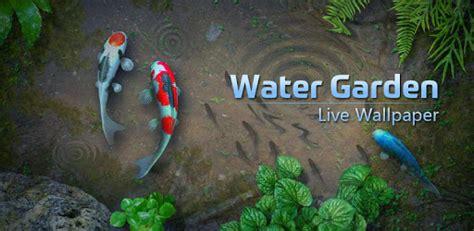 water garden  wallpaper apps  google play