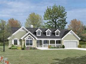 Spectacular Single Story Ranch Homes by Foxridge Country Ranch Home Plan 007d 0136 House Plans