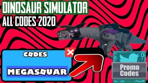 dinosaur simulator  codes legendary dino code