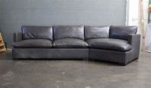 reno leather sectional sofa with cuddler in glove With reno leather sectional sofa with cuddler