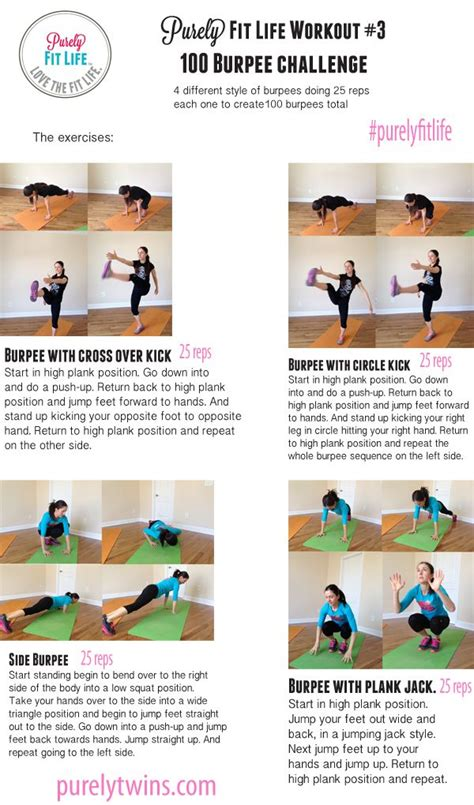 Boat House Boogie Exercise 25 best ideas about burpee challenge on pinterest