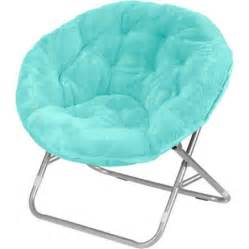 mainstays faux fur saucer chair multiple colors walmart com