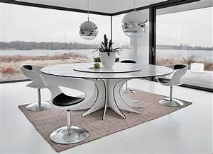 Tisch Weiß Rund Ausziehbar : design tisch rund weiss ~ Bigdaddyawards.com Haus und Dekorationen
