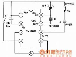 Sm5544h U2014the Digital Clock Integrated Circuit