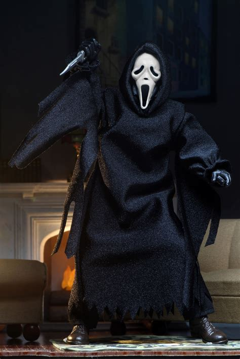 ghostface  clothed action figure ghostface updated
