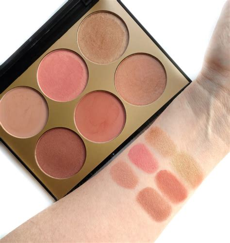 Sephora Blush On sephora collection contour blush palette review