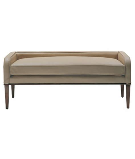 Upholstered Window Bench by Window Or Bedroom Bench Leather Upholstered Bench