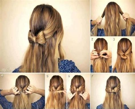 Simple Diy Braided, Bun & Puff Hairstyles Pictorial Tutorial For Girls